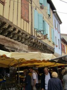 Market day - Mirepoix