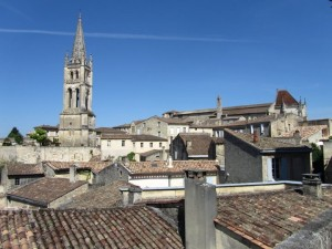The roofs of St Emilion