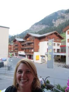Arrival Zermatt